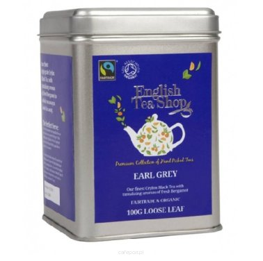 Czarna herbata Earl Grey - English Tea Shop - w puszce 100 g