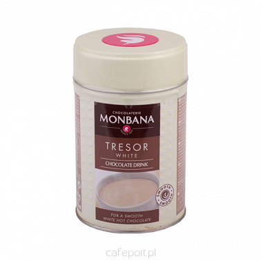 Monbana Tresor White Chocolate (200 g)