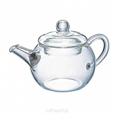 Czajnik do zaparzania herbaty Hario Asian Teapot Round - 180 ml