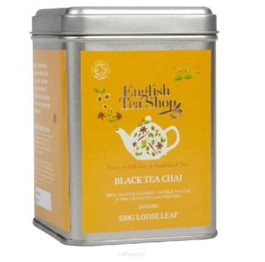 Czarna herbata Chai - English Tea Shop - w puszce 100 g
