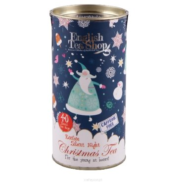 Herbata English Tea Shop - Rooibos Silent Night - Tuba 40 torebek