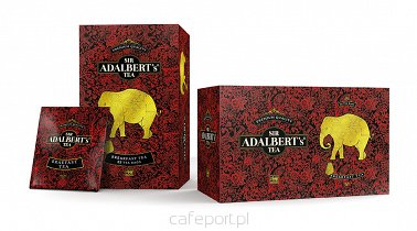 Czarna herbata English Breakfast Tea Adalbert's w saszetkach 50 g
