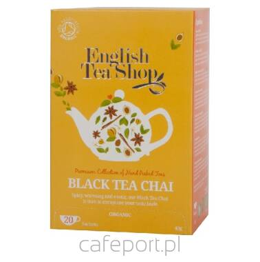 Czarna herbata Chai - English Tea Shop - w saszetkach 40 g