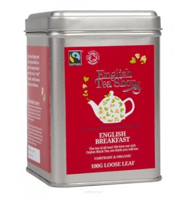 Czarna herbata English Breakfast - English Tea Shop - w puszce 100 g