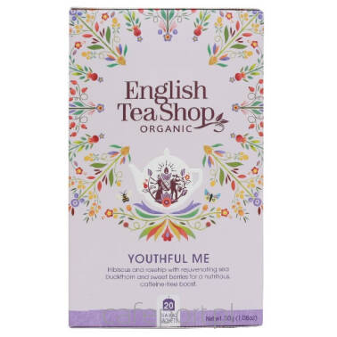 Herbata English Tea Shop - Youthful Me - 20 saszetek