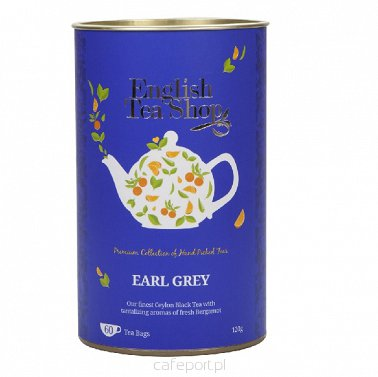 Czarna herbata Earl Grey - English Tea Shop - w torebkach 120 g