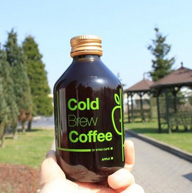 Cold Brew jabłkowe Etno Cafe - butelka 220 ml